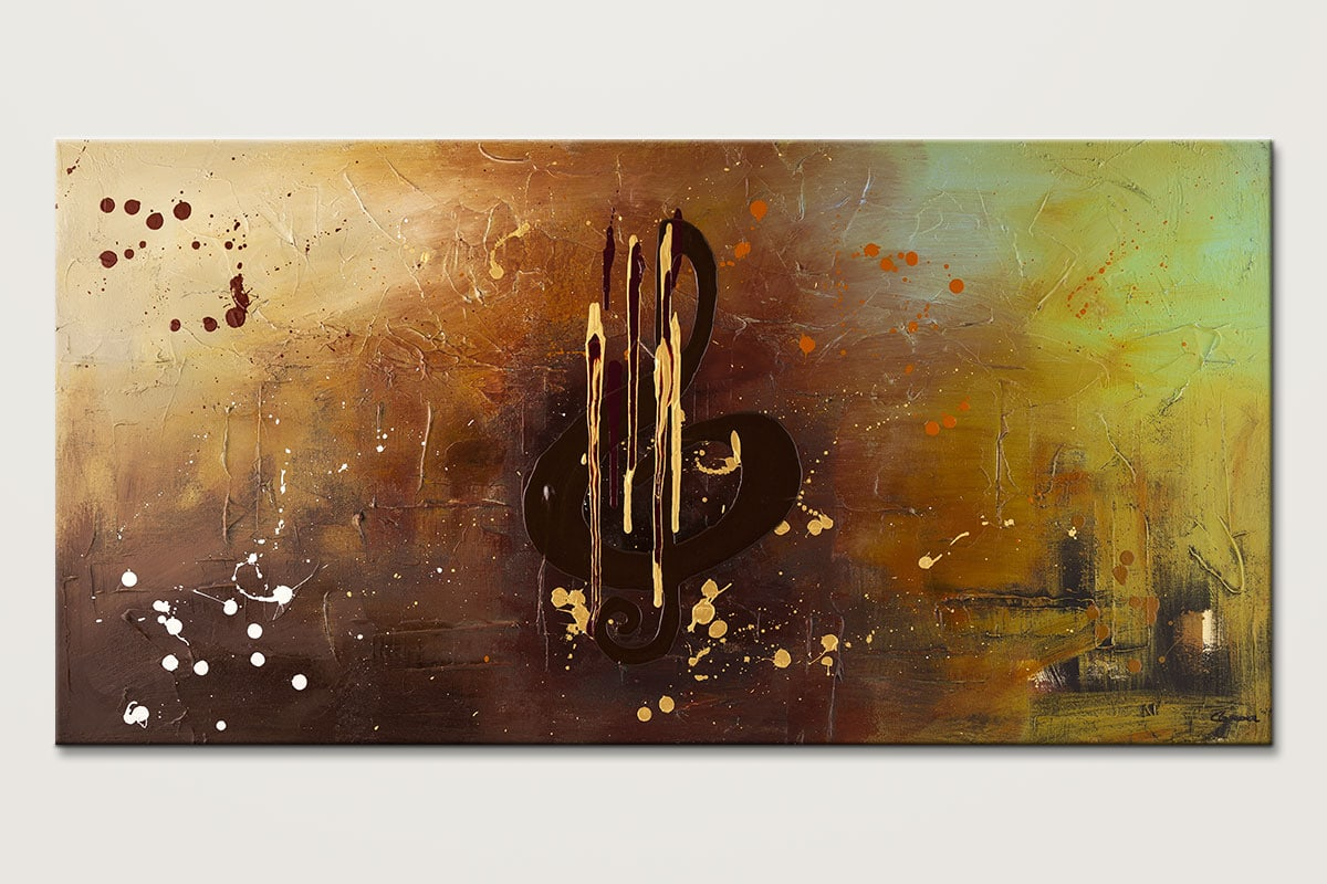 Music All Around Us Music Abstract Painting Id80