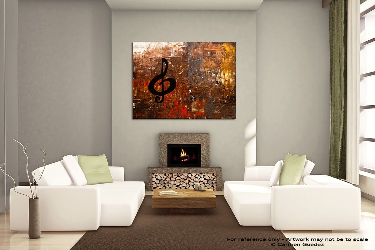 Music For The Soul Painting On Canvas Large Living Room Id52
