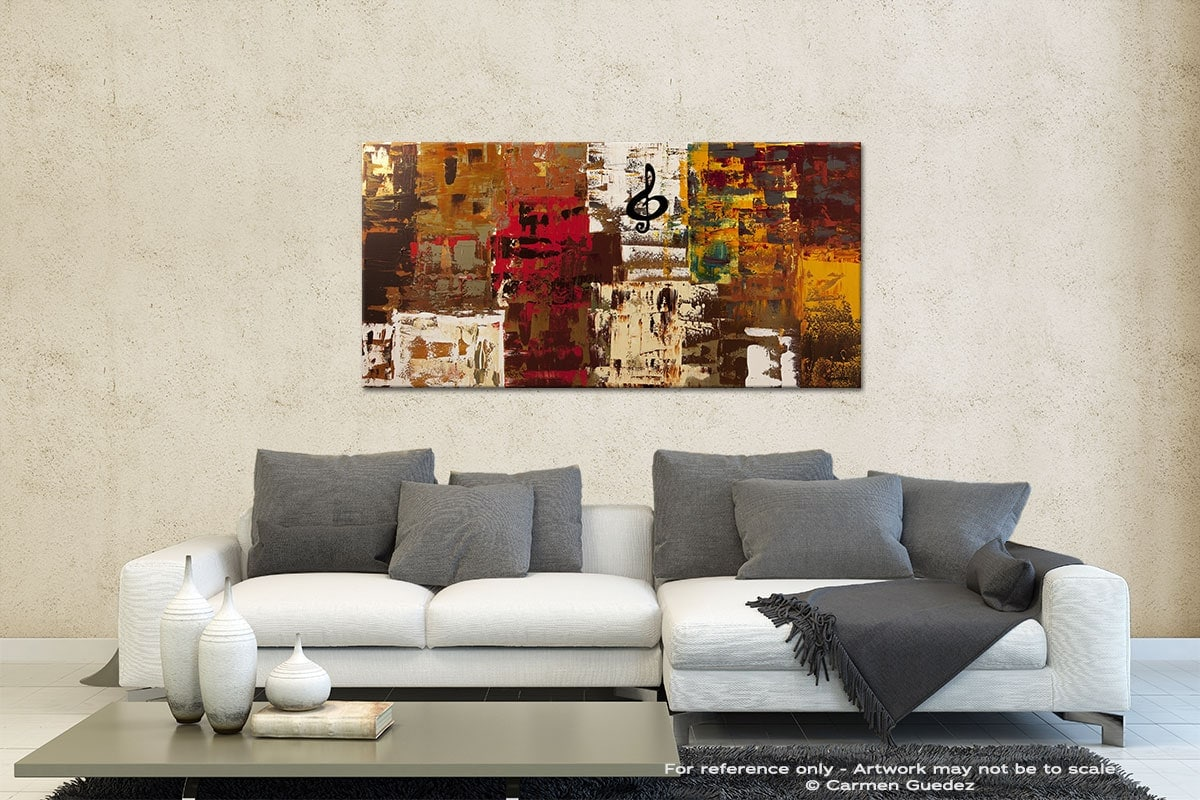 Music World Tour Contemporary Abstract Art Id35