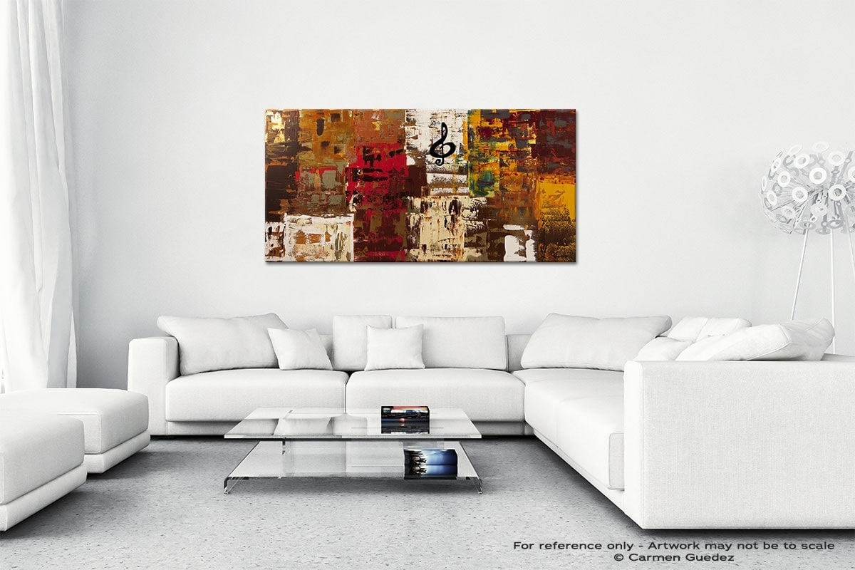 Music World Tour Wall Art Canvas Painting Id40
