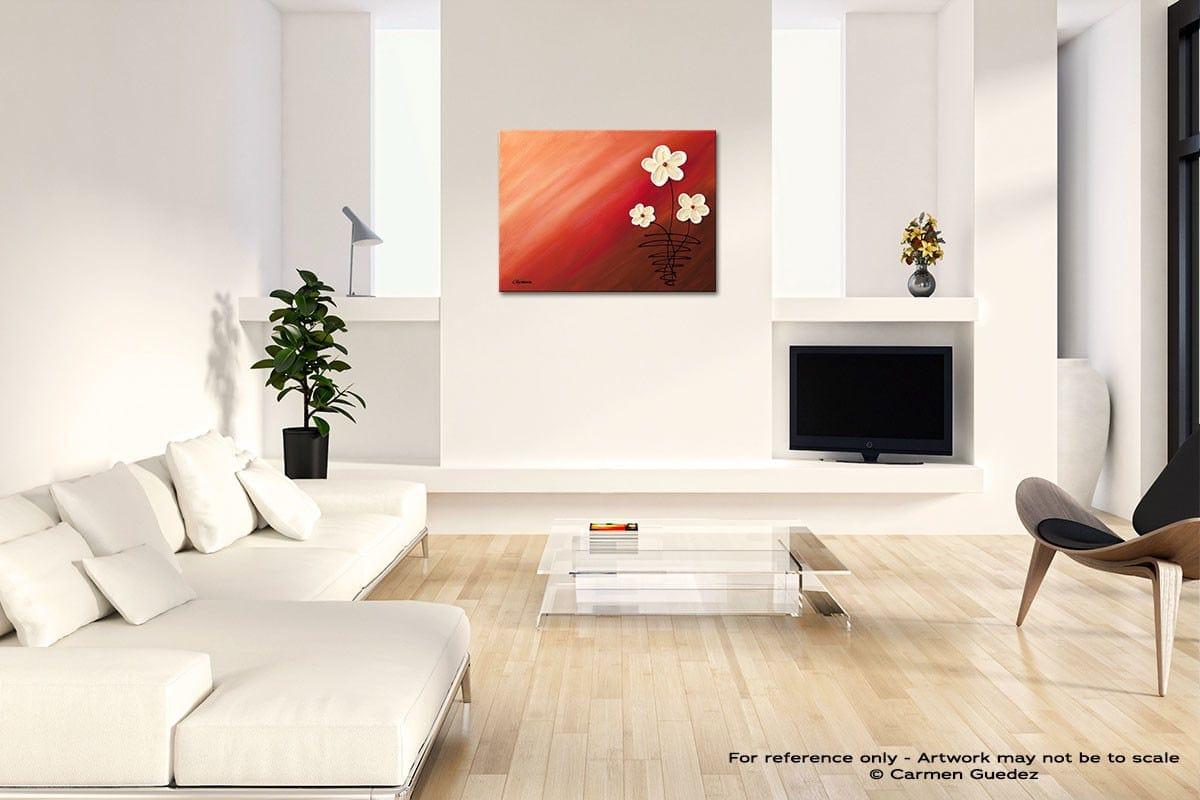 My Bundle Of Joy Acrylic Abstract Art Black And White Room Id63