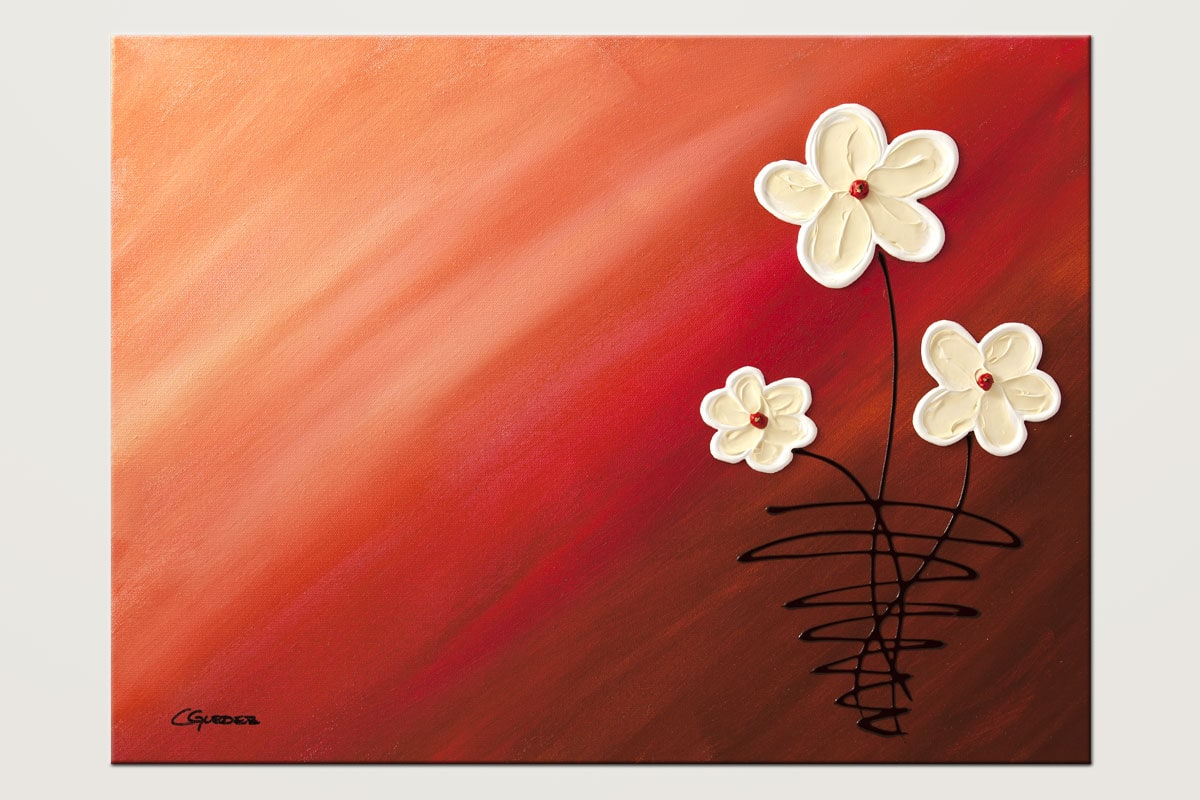 My Bundle Of Joy Flowers Abstract Art Id80