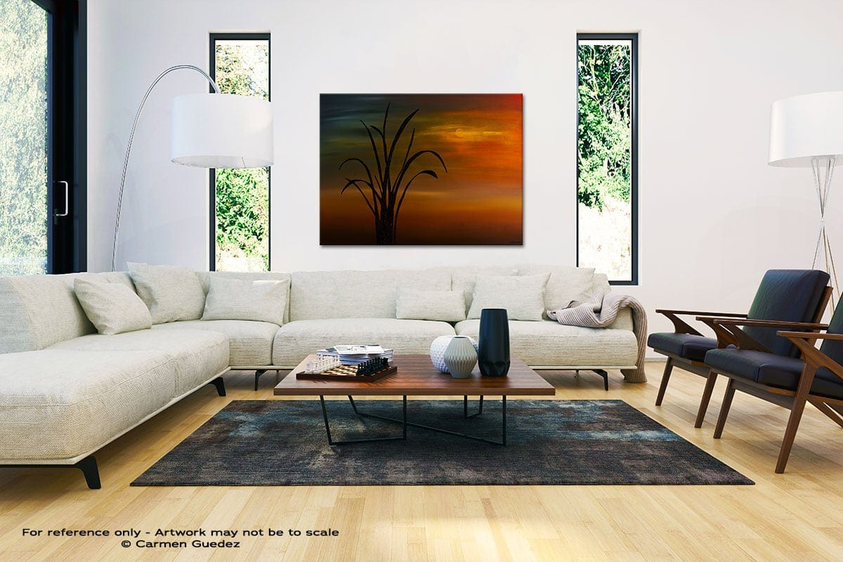 My Home Town Black And White Interior Decor Abstract Art Id46