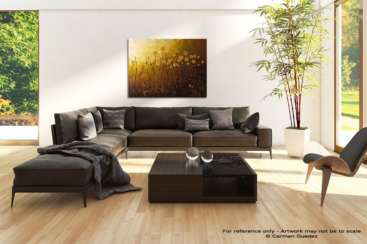 My Peaceful Place Abstract Painting Modern Home Id69