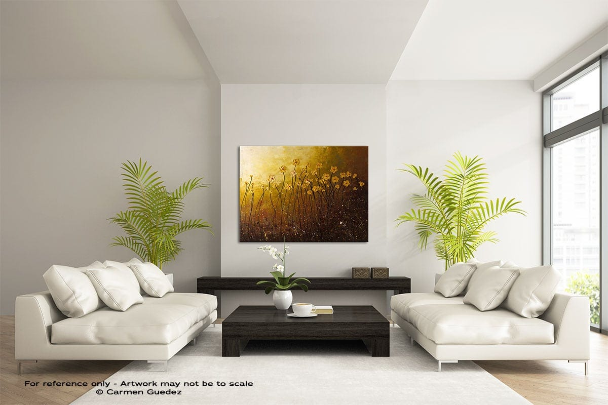 My Peaceful Place Large Modern Abstract Art Painting Id49