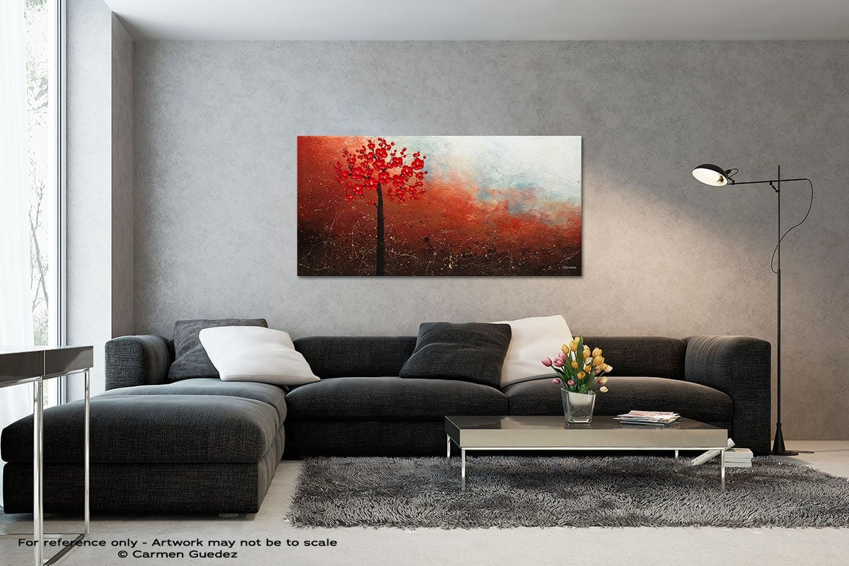 Natural Beauty Black And White Wall Abstract Art Painting Id70