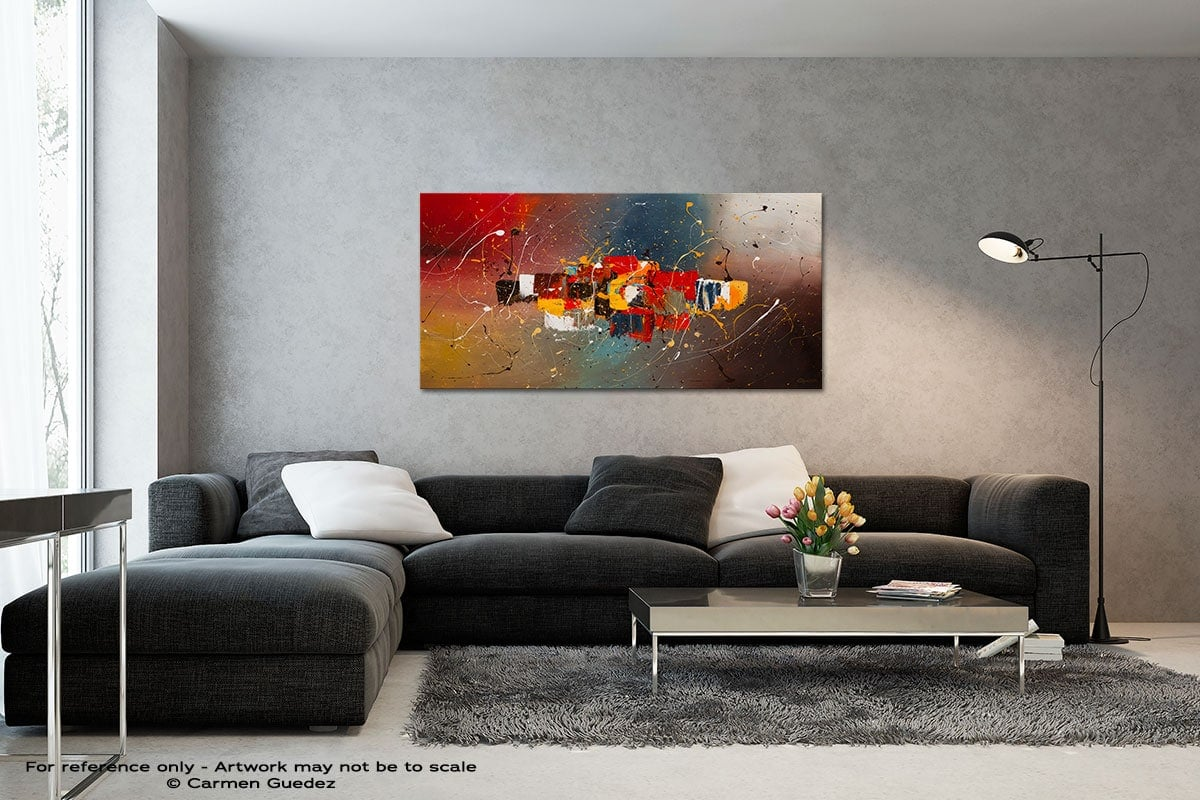 New Frontier Black And White Wall Abstract Art Painting Id70
