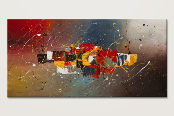 New Frontier Contemporary Abstract Art Id80