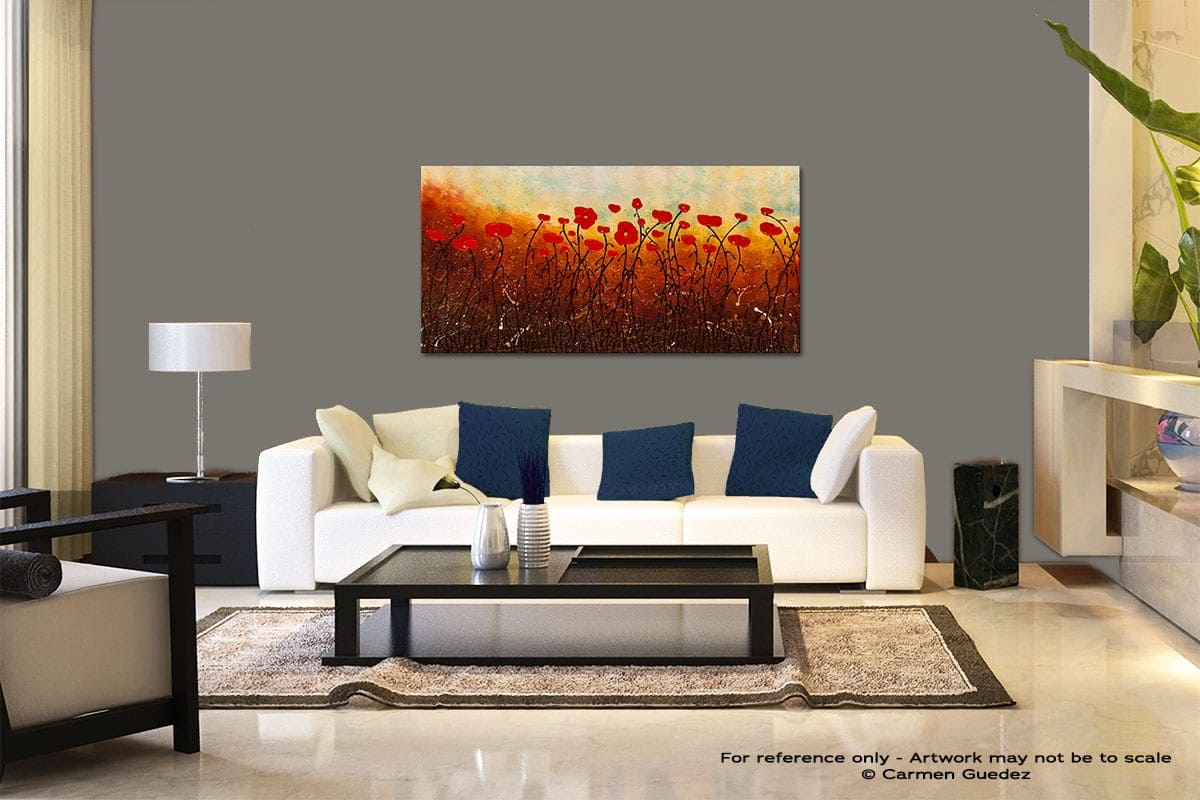 New Life Abounds Modern Abstract Art Painting Living Room Id37