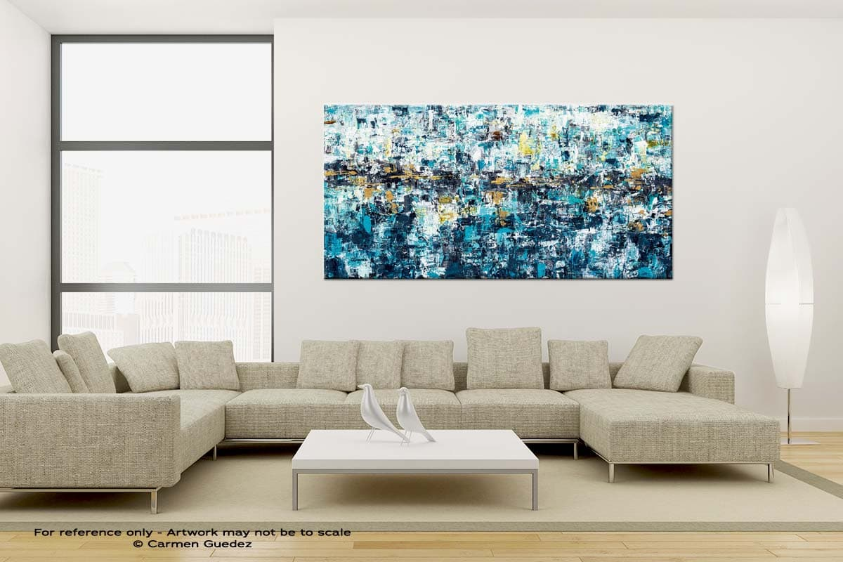 New Possibilities Large Canvas Abstract Painting Id6