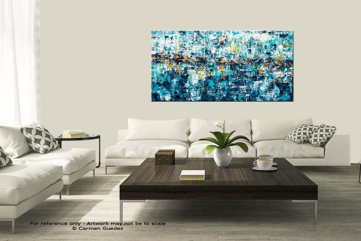 New Possibilities Modern Large Abstract Art Painting Id8