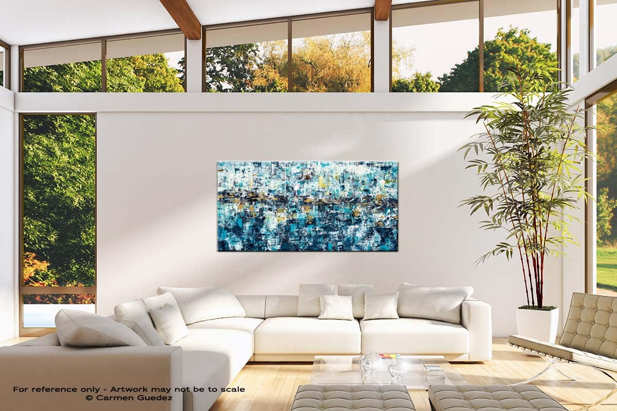 New Possibilities Oversized Contemporary Abstract Wall Art Id10