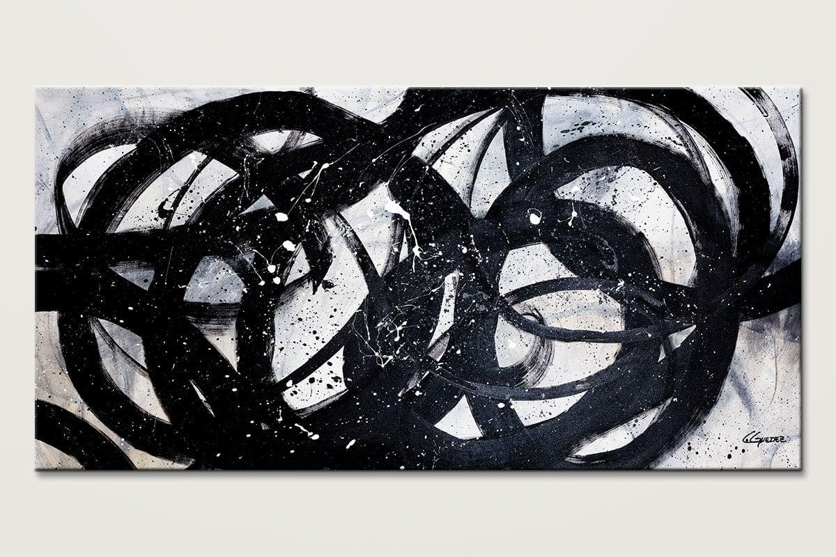 Night Shadow Original Modern Abstract Art