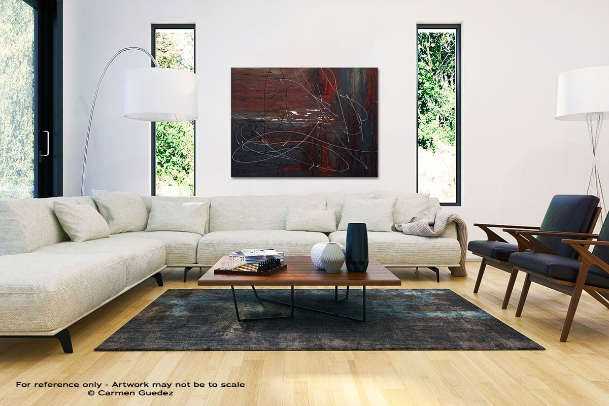 Not So Distant Past Black And White Interior Decor Abstract Art Id46