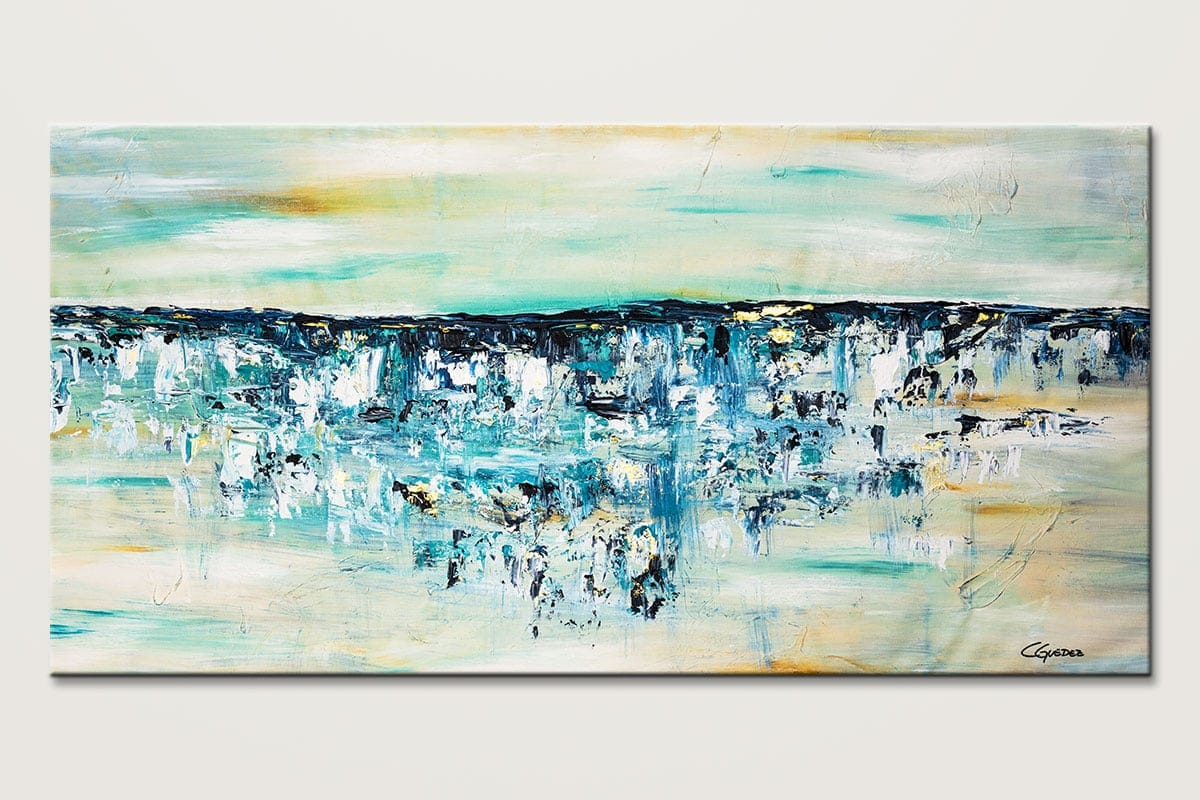 Ocean Adventure2 Large Abstract Canvas Art