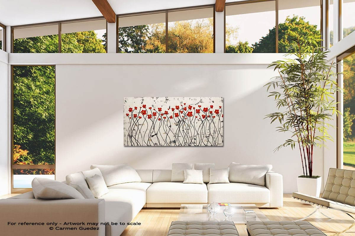 Ode To Summer Modern Canvas Abstract Art Id38