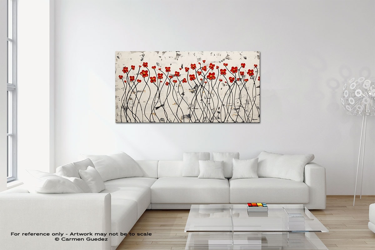 Ode To Summer Original Neutral Abstract Wall Art Room Id39