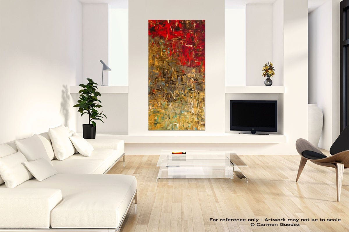 Oh No Oh Si Neutral Wall Art Abstract Painting Id14