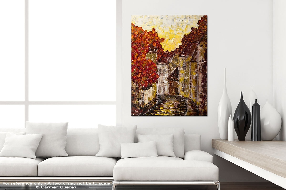 Old Country Modern Vertical Black And White Interior Abstract Art Id54