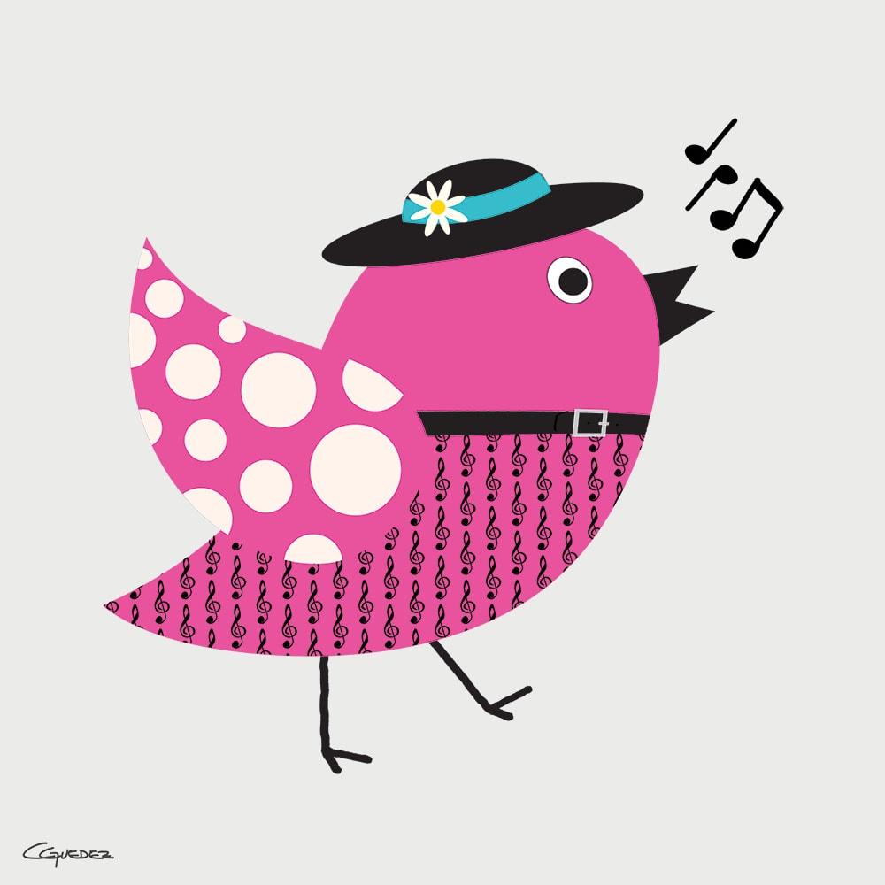 Olivia Bird Nft Art