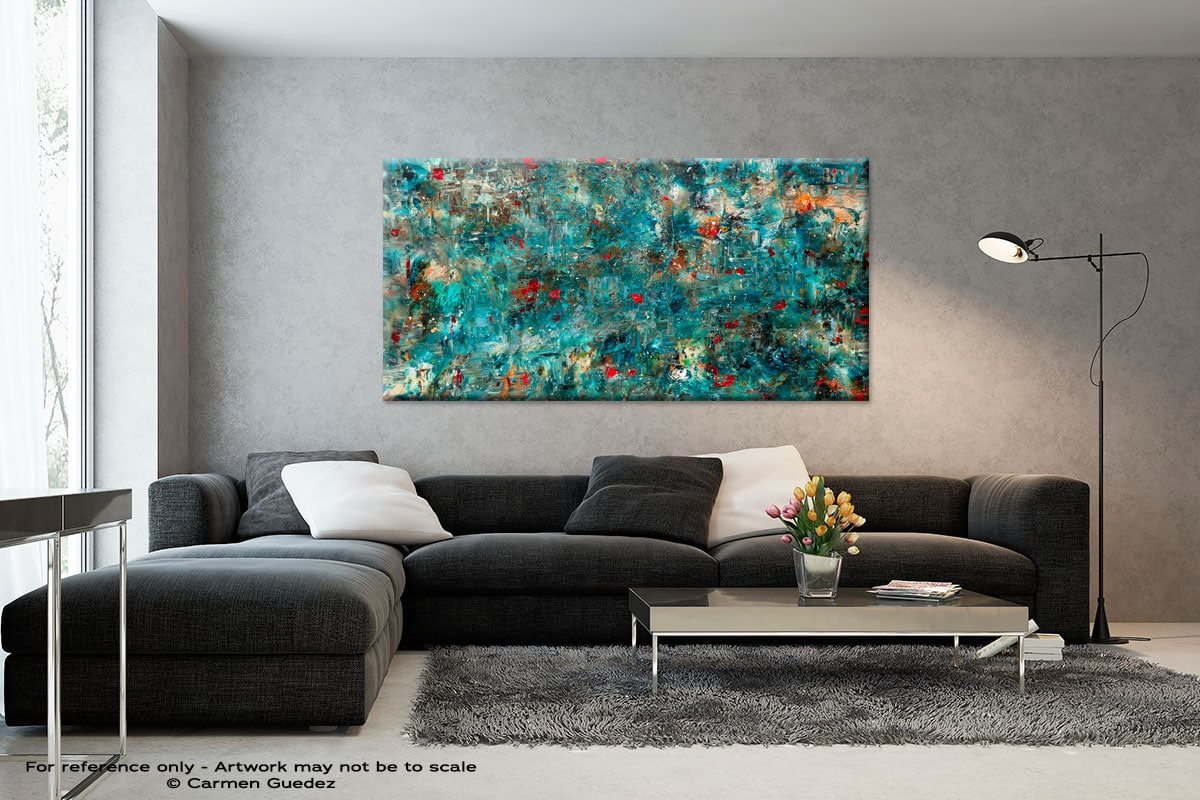 Once Upon A Dream Black And White Abstract Art Living Room Id2