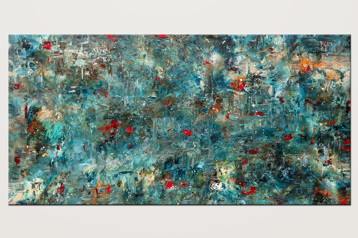 Once Upon A Dream Original Large Abstract Art Id80