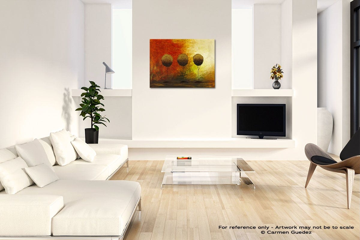 Once Upon A Time Acrylic Abstract Art Black And White Room Id63