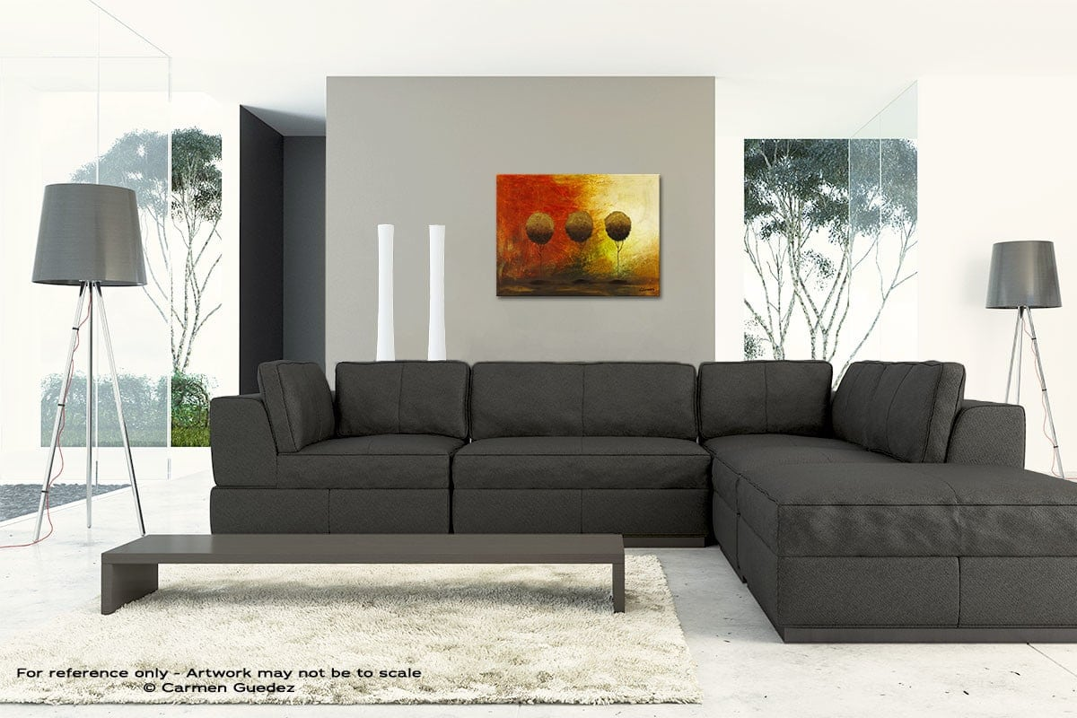 Once Upon A Time Original Modern Canvas Abstract Art Id66