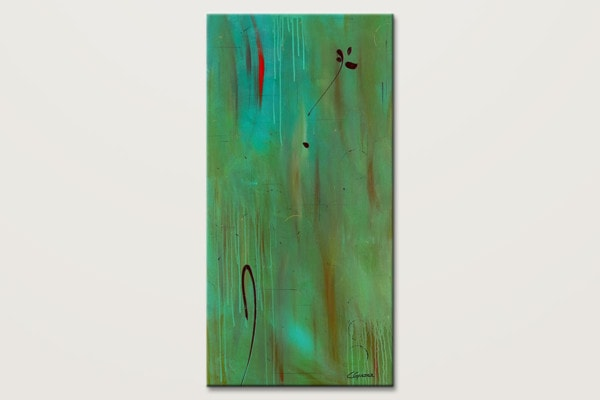 One And Only Abstract Painting On Canvas