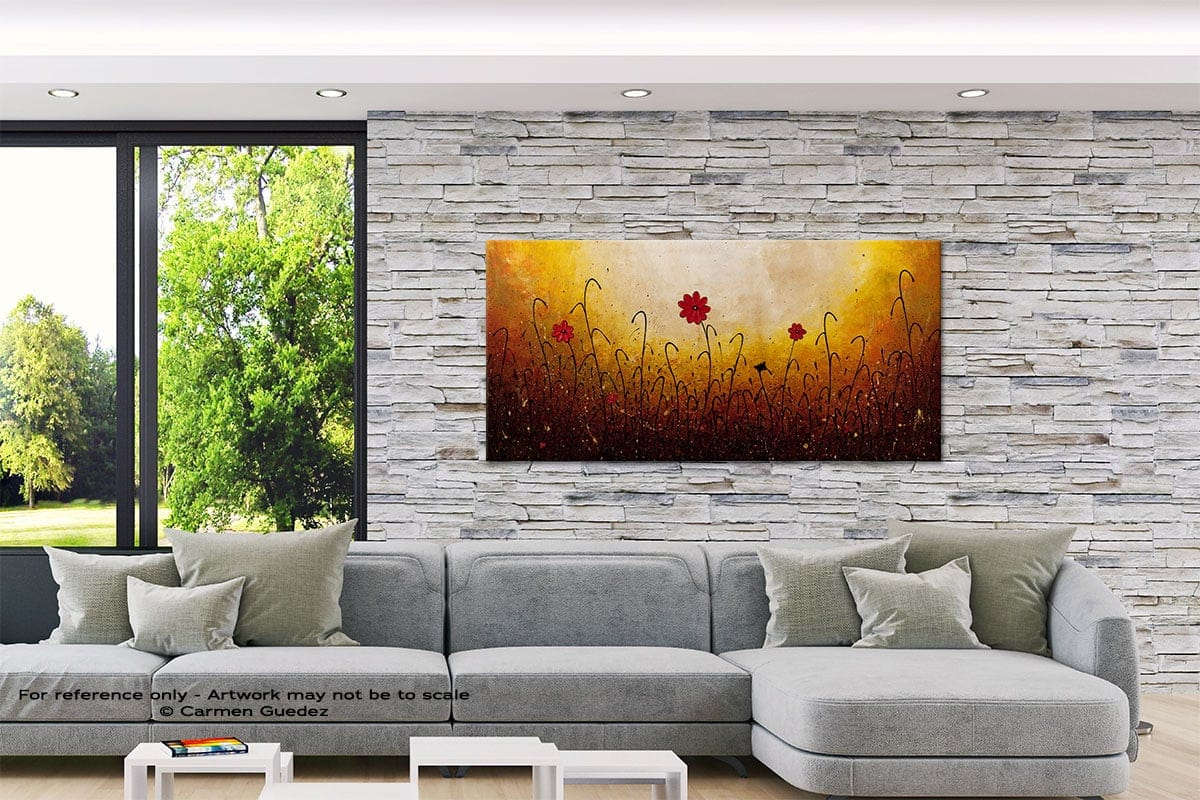 One Serenade Abstract Canvas Painting Interior Decor Id33