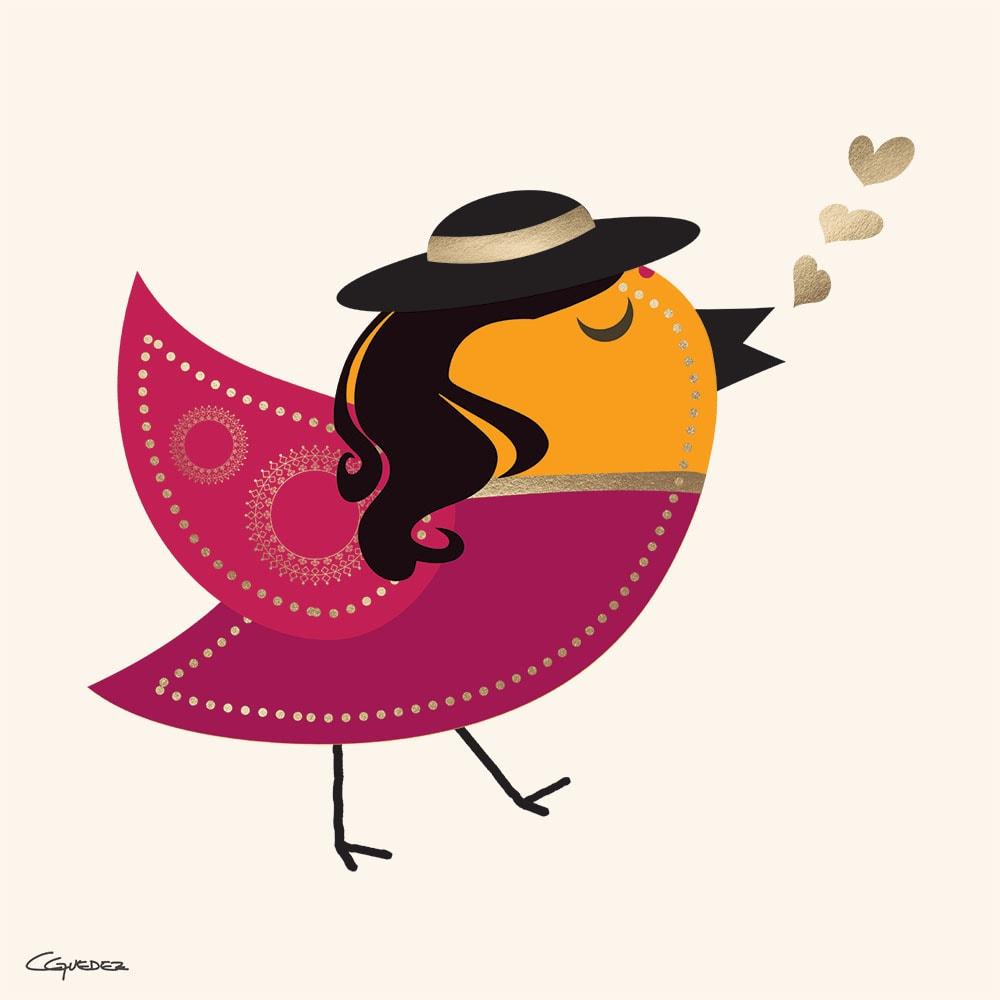 Padma Bird Nft Art