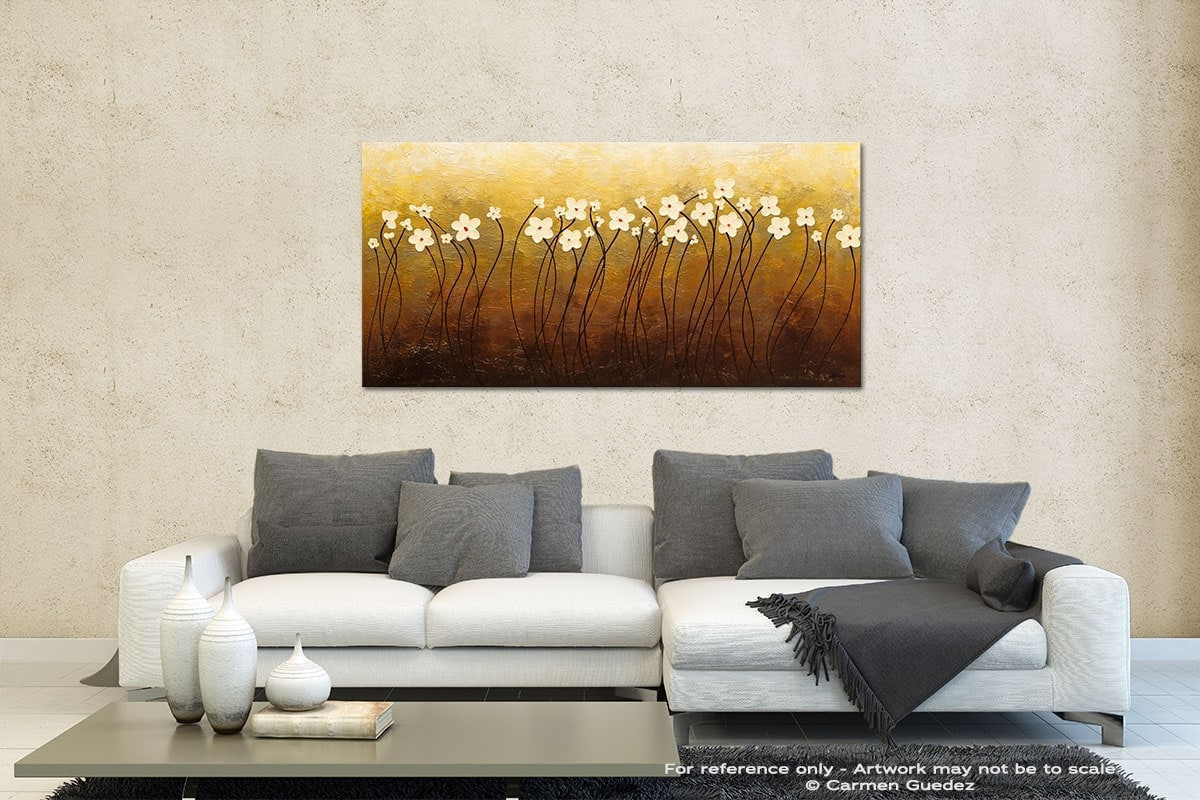 Paraiso De Flores Contemporary Abstract Art Id35