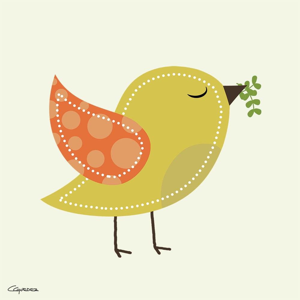 Paz Bird Nft Art