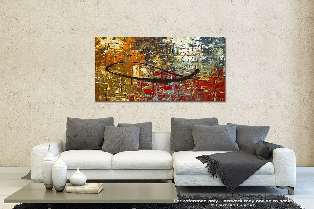 Peace On Earth Contemporary Abstract Art Id35