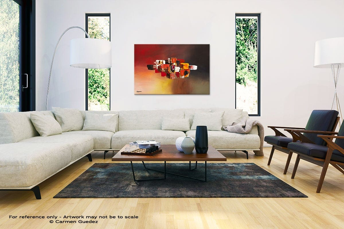 Perpetual Abstract Painting Interior Decor Art Id61