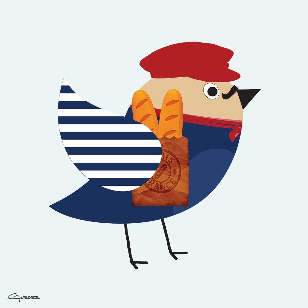 Pier Bird Nft Art