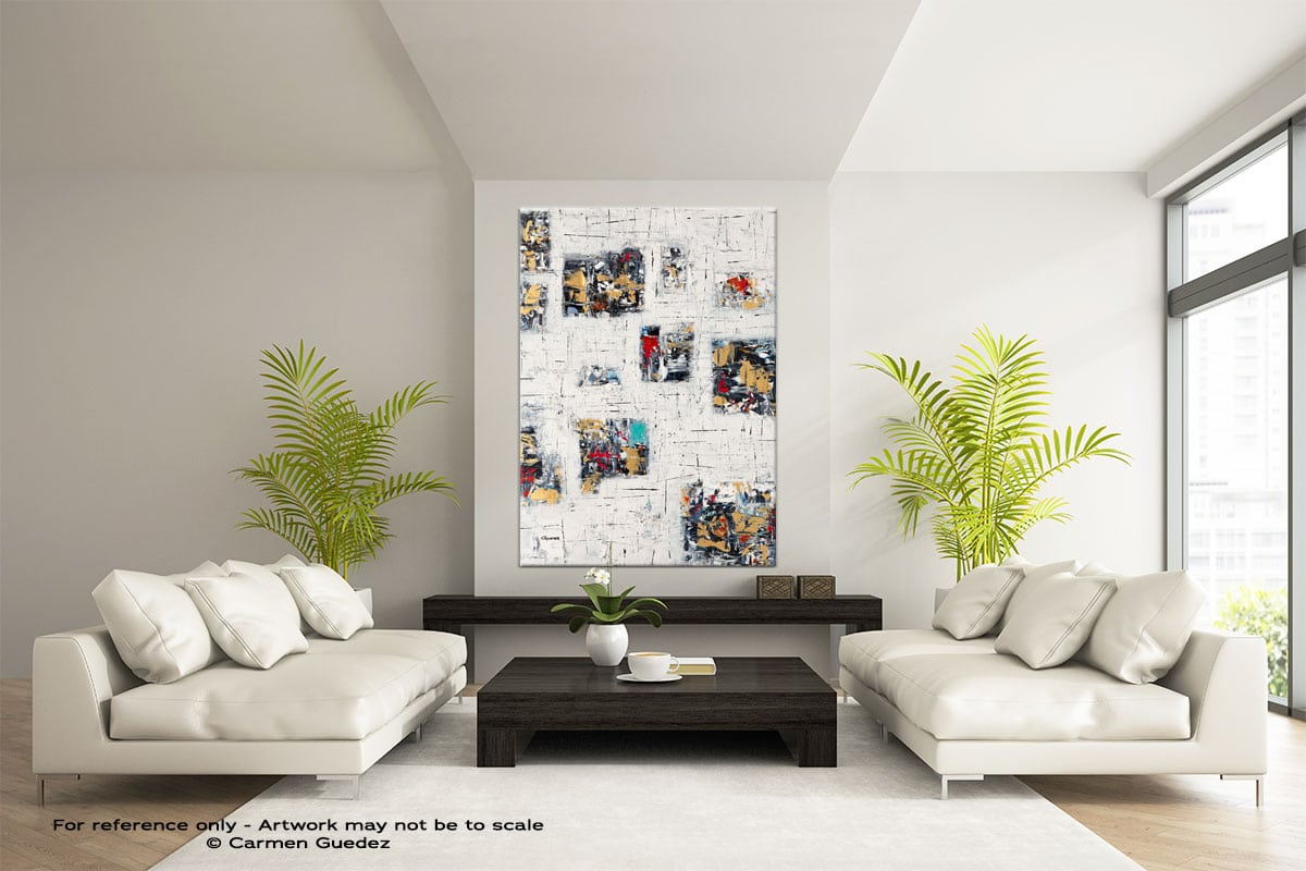Precious Moments Abstract Painting Modern Home Id17