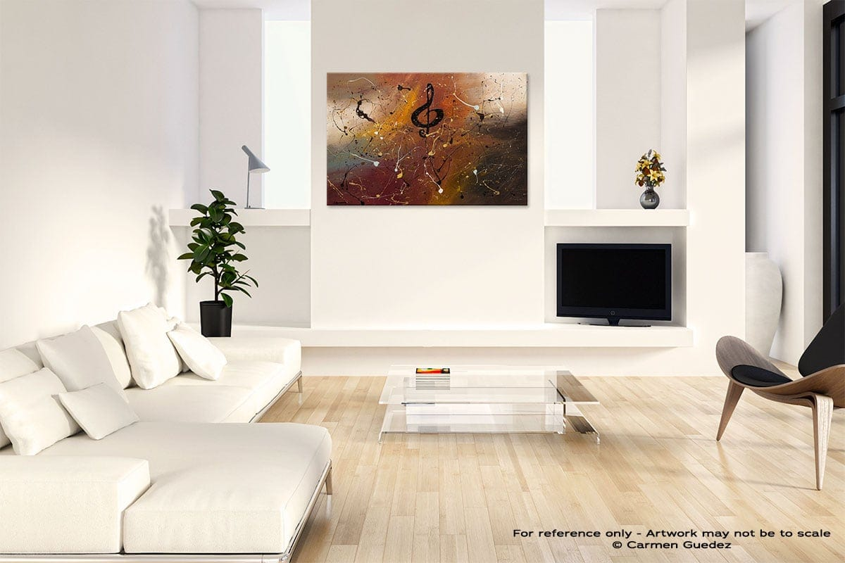 Presto Abstract Art Painting Interior Living Room Design Id60