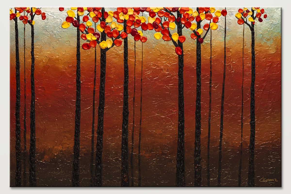 Primavera Landscape Abstract Painting Id80
