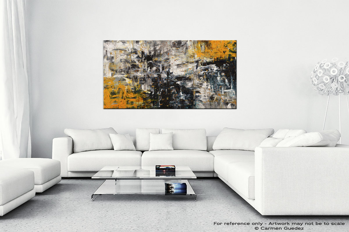 Progression Abstract Wall Art Painting On Canvas Id1