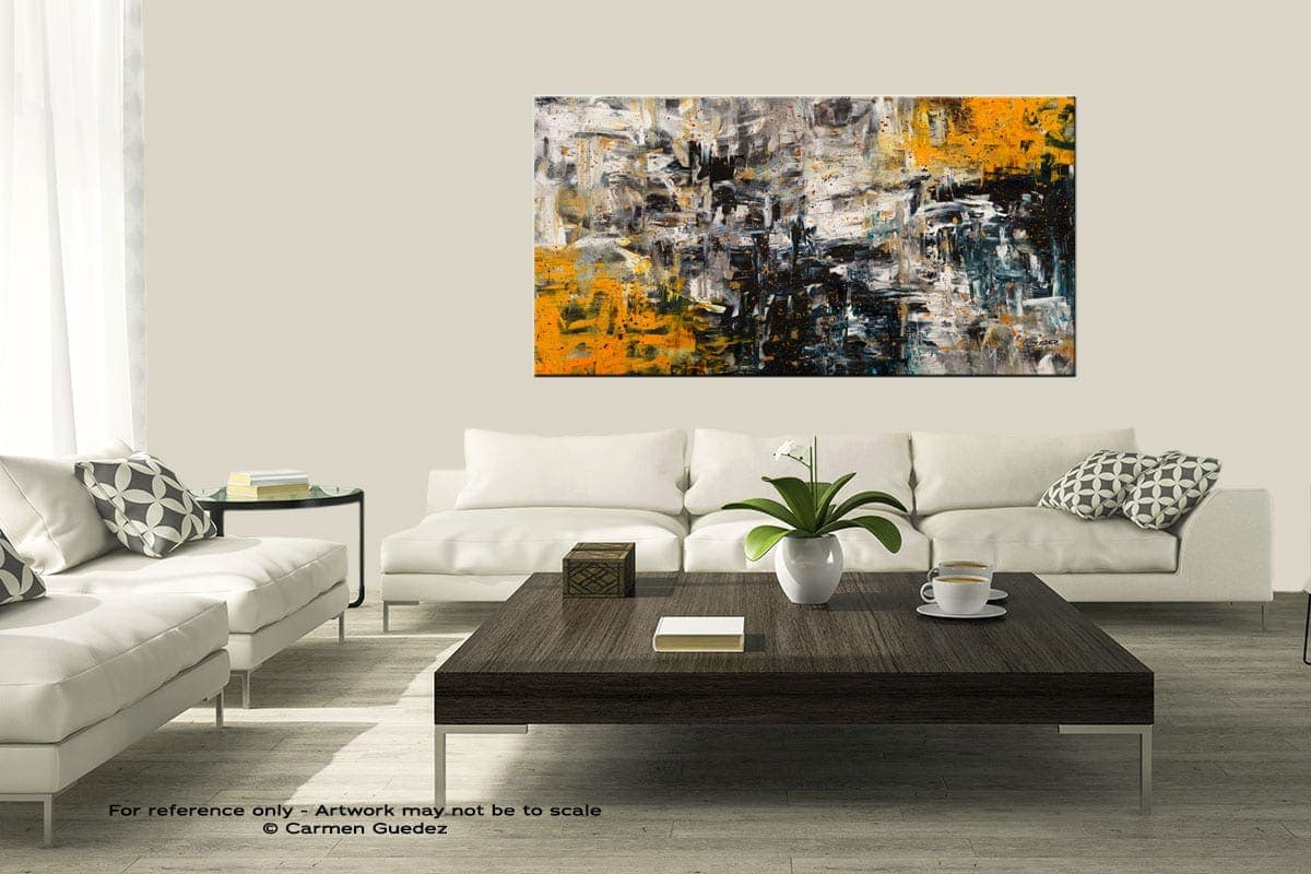 Progression Modern Large Abstract Art Painting Id8