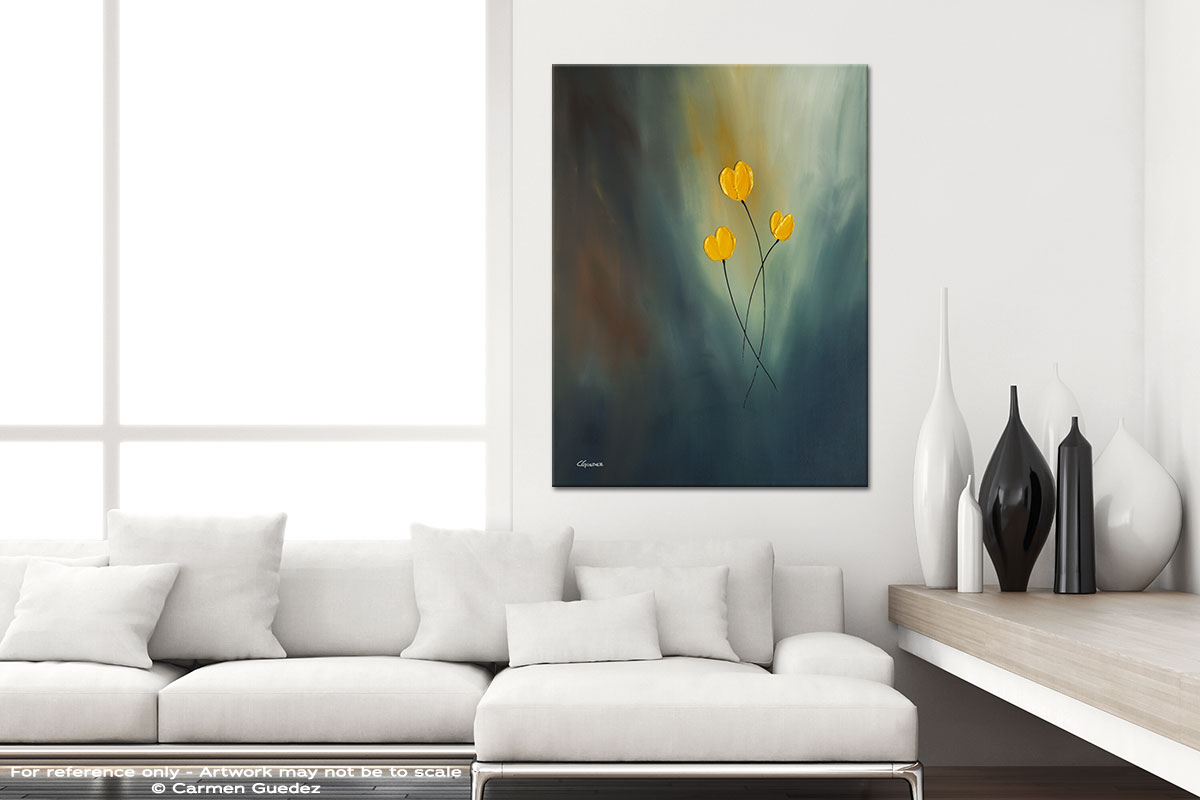 Rays Of Hope Modern Vertical Black And White Interior Abstract Art Id54