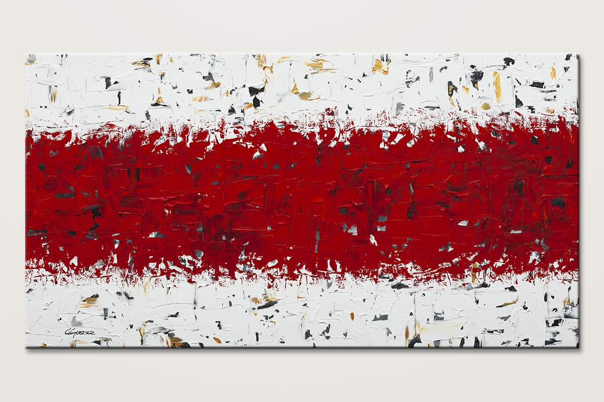 Red Hot Chili Pepper Large Abstract Art Id80