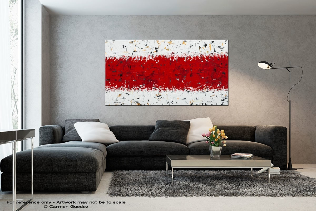 Red Hot Chilli Peppers Black And White Abstract Art Living Room Id2