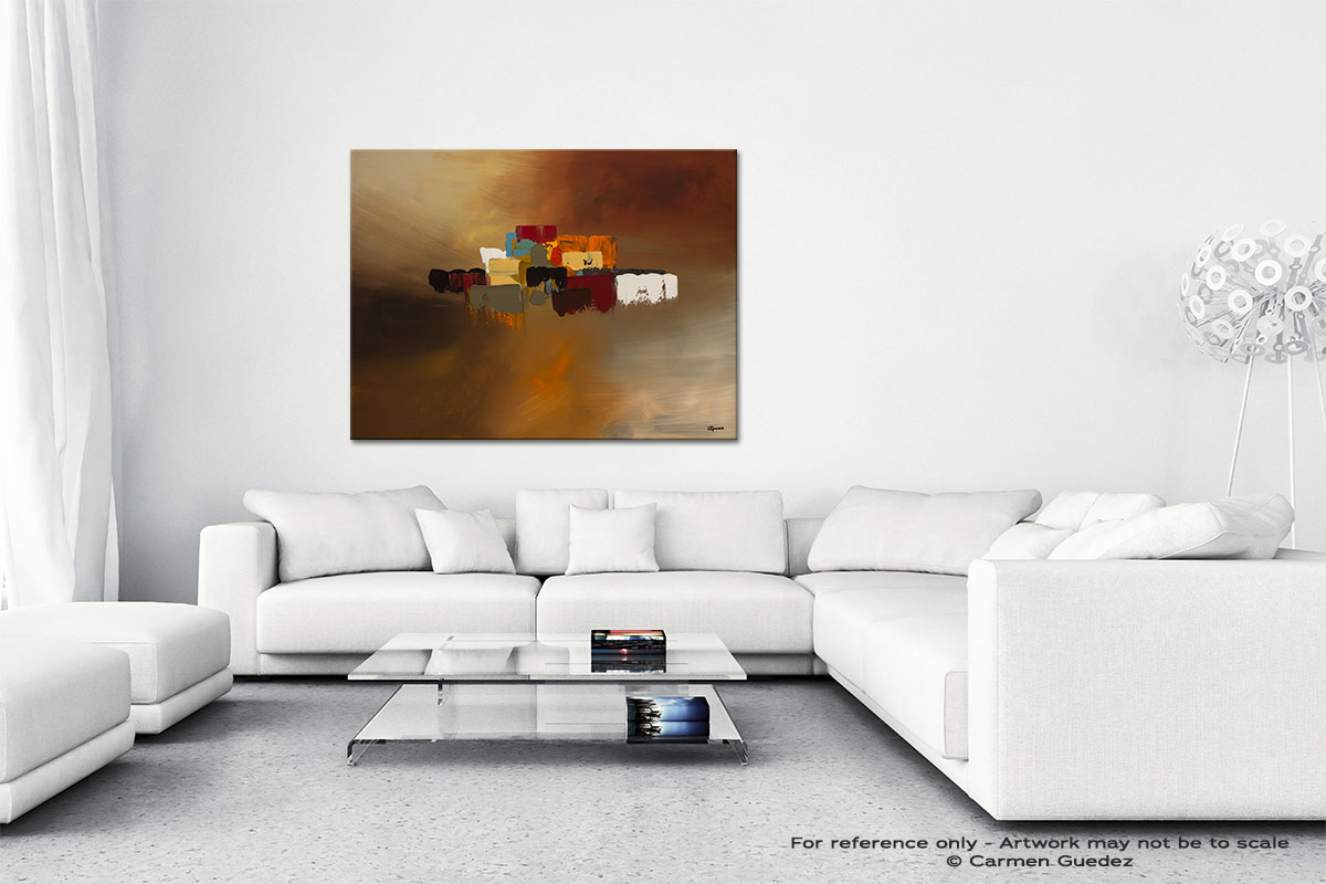 Reflexions Canvas Art Abstract Painting Id47