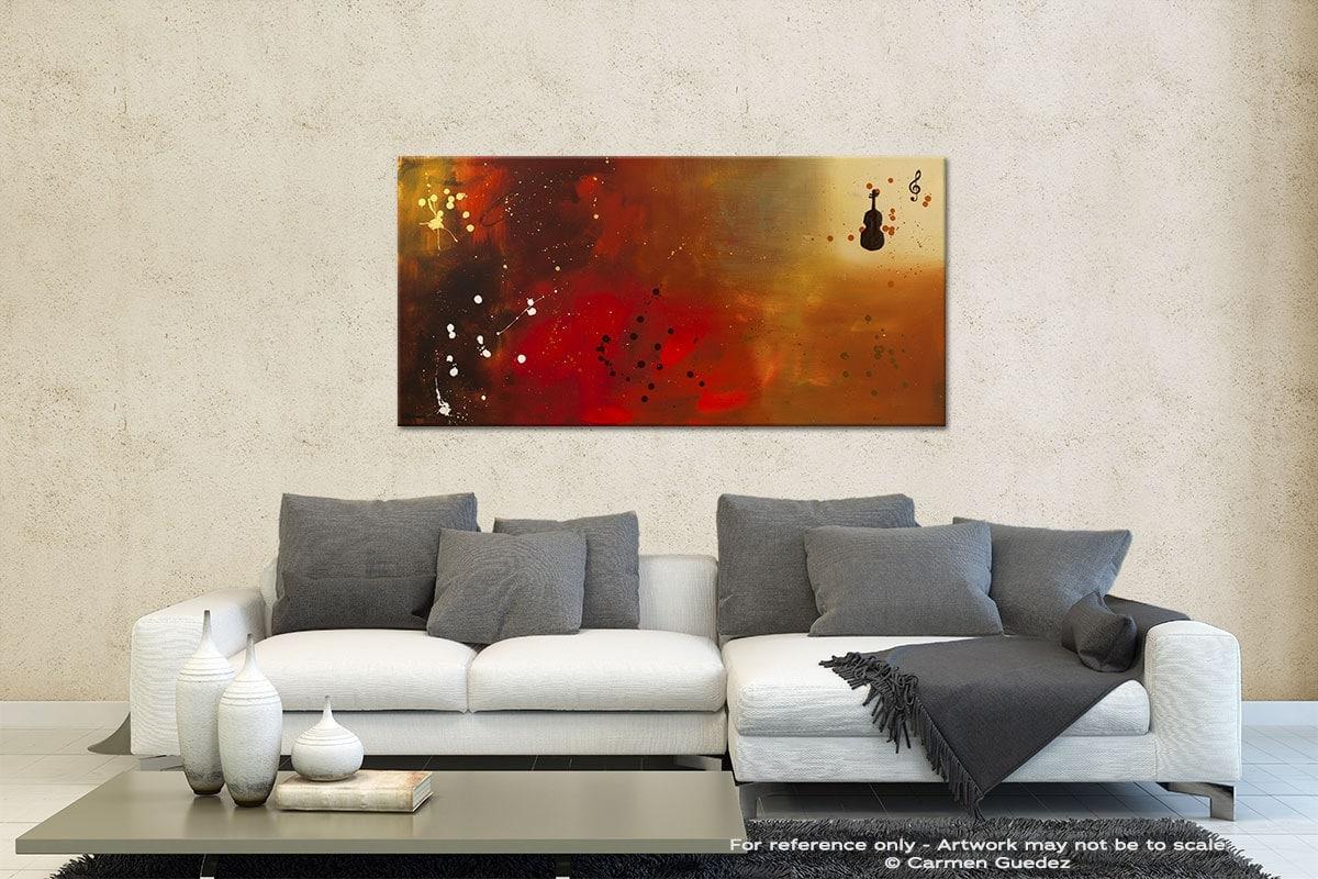Requiem Contemporary Abstract Art Id35