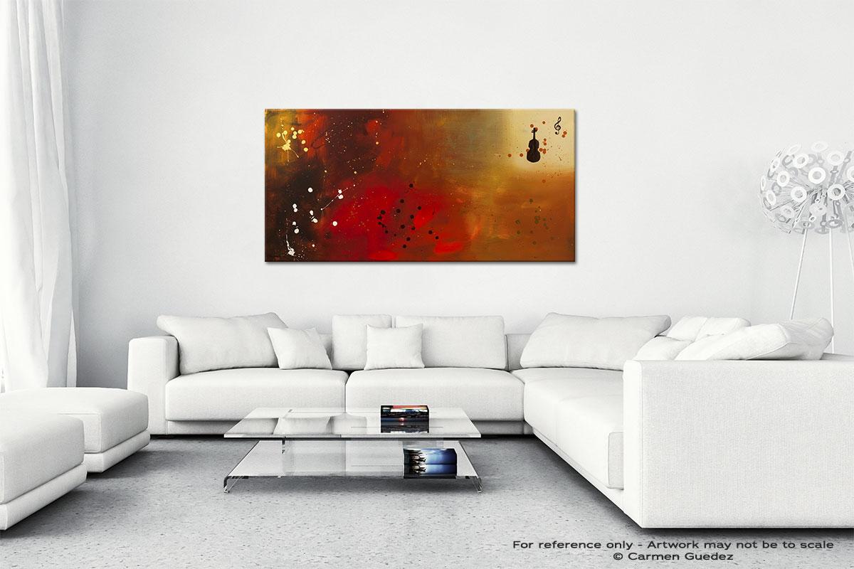 Requiem Wall Art Canvas Painting Id40