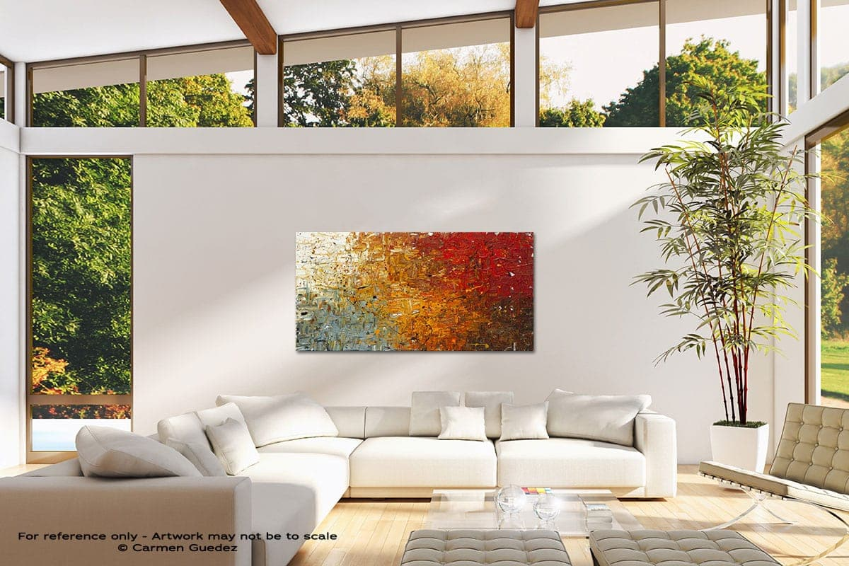 Running Free Modern Canvas Abstract Art Id38