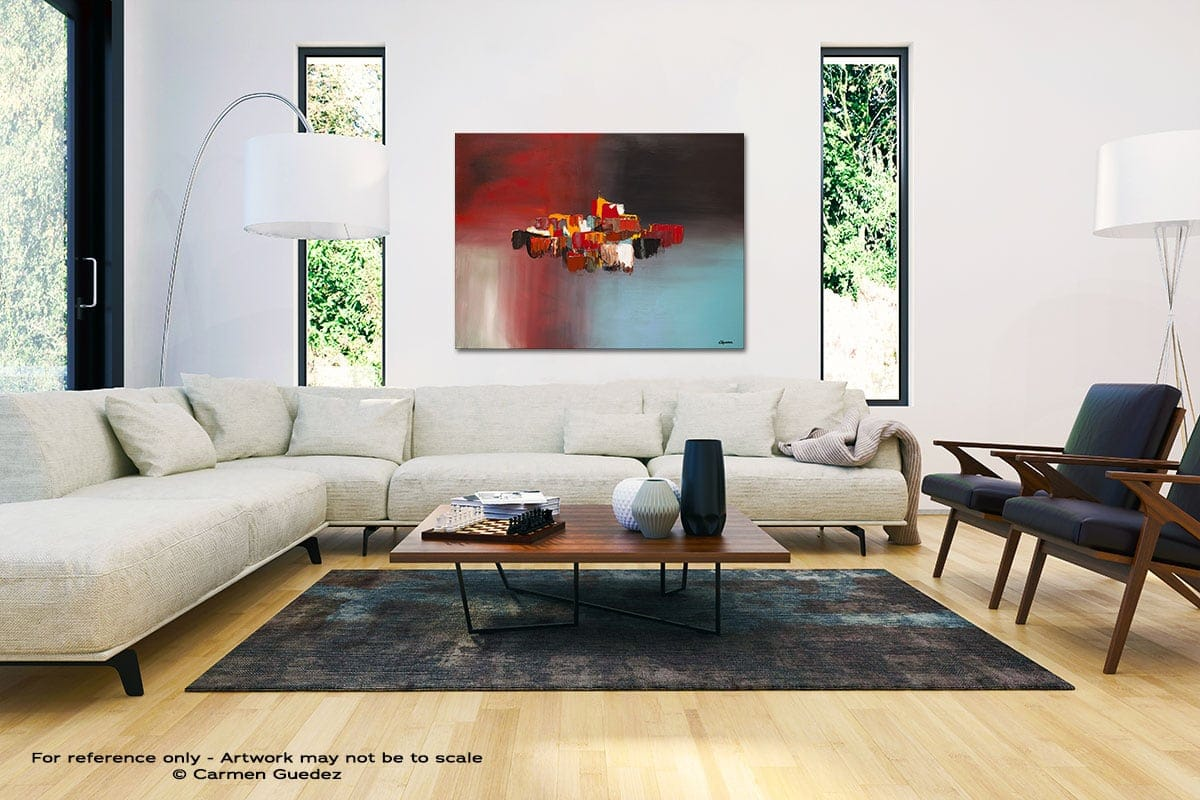 Rush Hour Black And White Interior Decor Abstract Art Id46