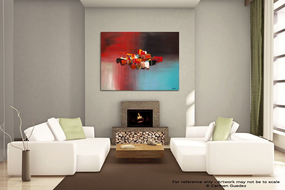 Rush Hour Painting On Canvas Large Living Room Id52